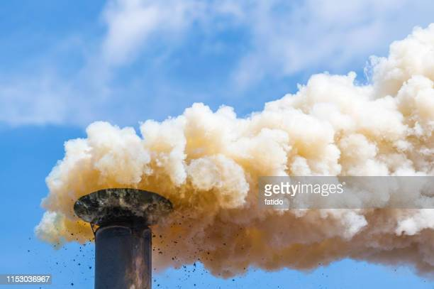 air pollution - carbon dioxide stock photos and pictures