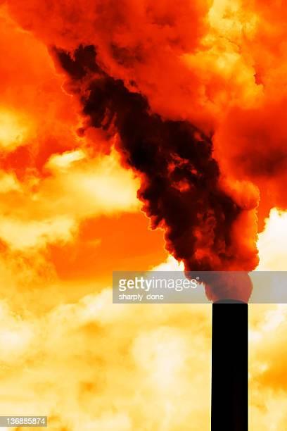 air pollution - natuurgeweld stockfoto's en -beelden