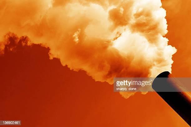 air pollution - carbon dioxide bildbanksfoton och bilder
