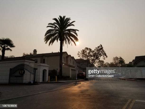 Air quality reached record lows in the San Francisco Bay Area as smoke from wildfires drifted into the area San Ramon California November 15 2018