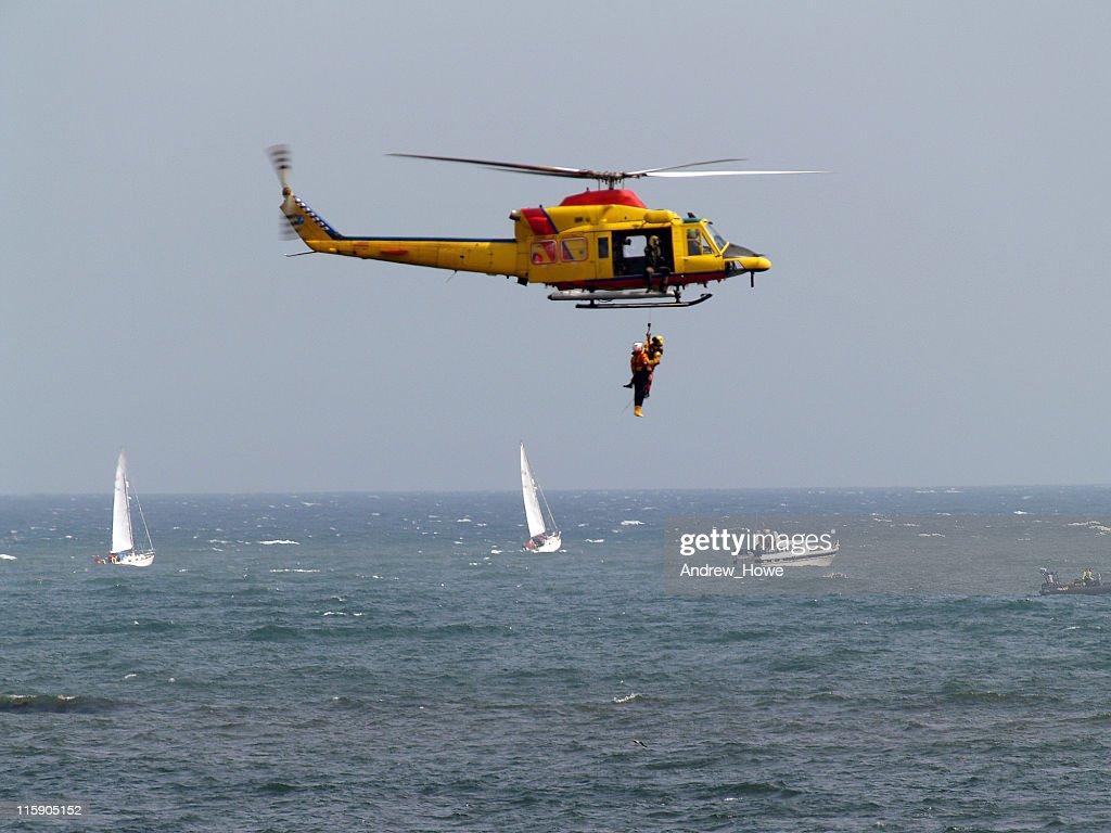 Air Sea Rescue : Stock Photo