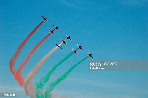 Air show Desert festival Jaisalmer Rajasthan India
