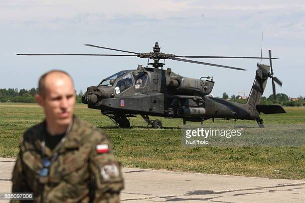 Air show in the 49th Air Base in Pruszcz Gdanski on June 4 2016 Military equipment planes and helicopter were shown at the show The main point was...