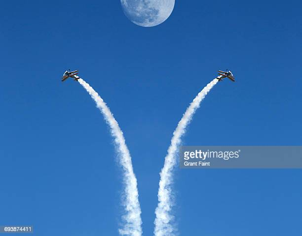 air show. - aeroplane stock pictures, royalty-free photos & images