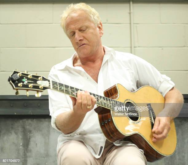 Air Supply band member Graham Russell attends a Wall Premiere musical presention of his show 'A Wall Apart' presented by the New York Musical...