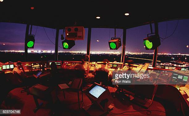 air traffic controllers - control tower stock pictures, royalty-free photos & images