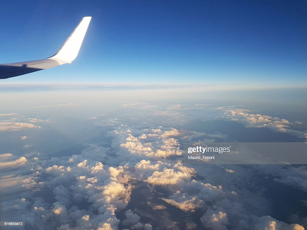 Air travel : Stock Photo