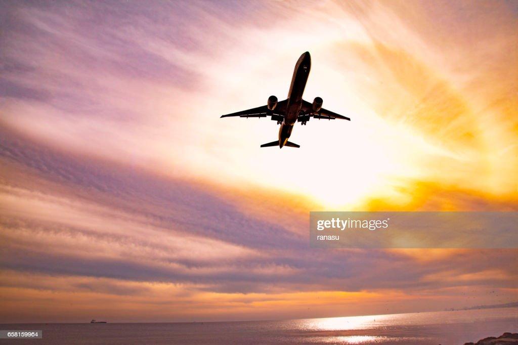 Air travel : Stock Photo