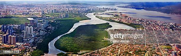 air view of aracaju - sergipe - brazil - brasil sergipe aracaju - fotografias e filmes do acervo