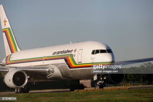 Air Zimbabwe Boeing 767200ER taxiing at Gatwick