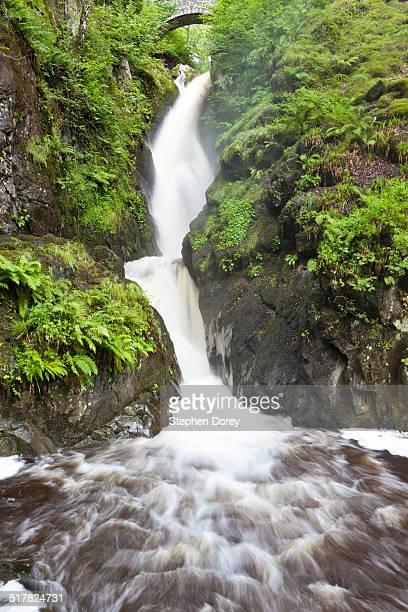 Aira Force waterfall - English Lake District - UK