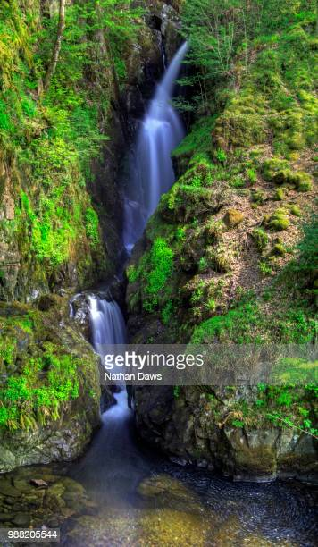Aira Force Waterfall in the English Lake District
