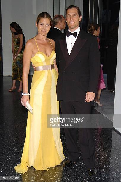Airan Lauder and Eric Zinterhofer attend The MUSEUM OF MODERN ART hosts their 37th Annual Party in the Garden to Celebrate DAVID ROCKEFELLER's 90th...
