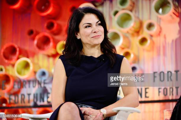 AirBnb COO Belinda Johnson attends Fortune Most Powerful Women Summit 2018 at Ritz Carlton Hotel on October 3 2018 in Laguna Niguel California