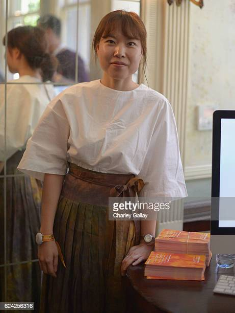 Airbnb Localization Manager APAC Hyelim Chang attends Connecting with Hosts Around the World at Clifton's Cafeteria during Airbnb Open LA Day 2 on...