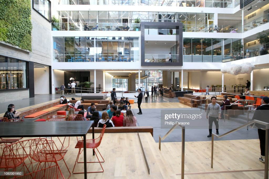 Airbnb Office Space Is Seen At Wired25 Work Inside San Francisco S