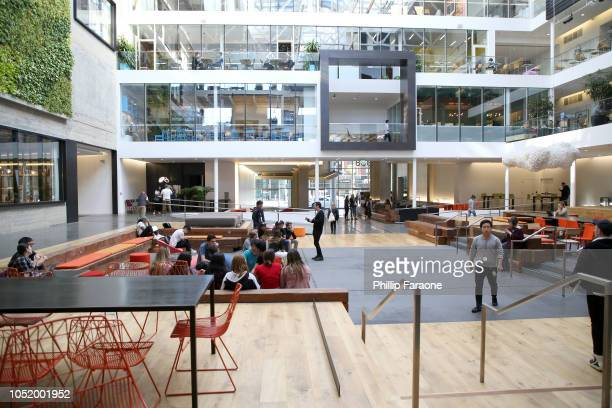 Airbnb office space is seen at WIRED25 Work Inside San Francisco's Most Innovative Workplaces on October 12 2018 in San Francisco California