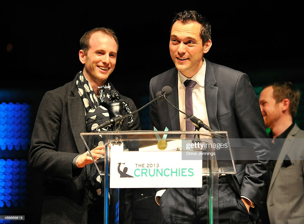 Airbnb wins the Best Collaborative Consumption Service award at the 7th Annual Crunchies Awards at Davies Symphony Hall on February 10, 2014 in San Francisco, California.
