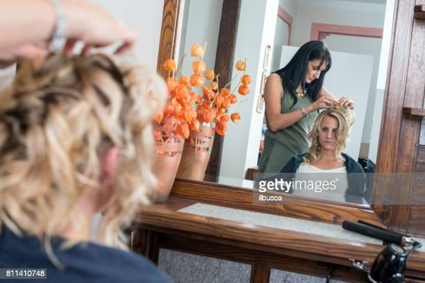 Airbrush makeup and hairdressing salon: Hairdressing