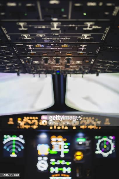 Airbus A320 flight simulator