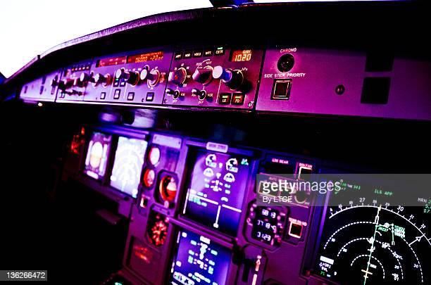 Airbus A320 flight-deck