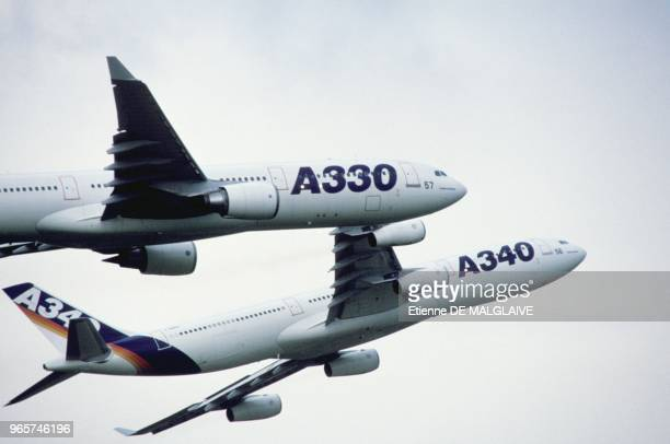 Airbus A330 And A340 Paris September 29 1993