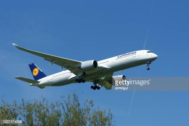 Airbus A350-941 Lufthansa reg D-AIXG