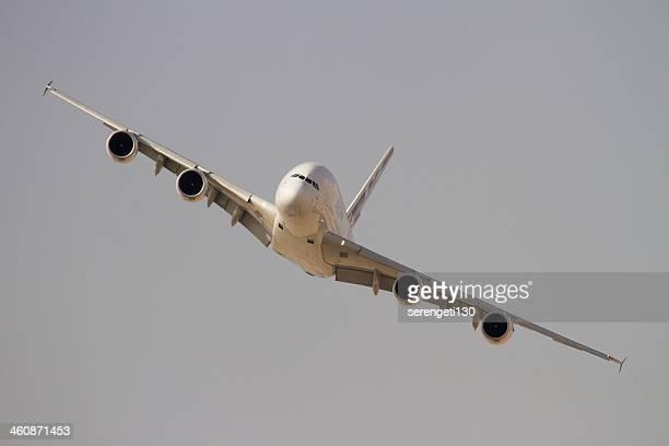 Airbus A380 Flugzeuge im Flug