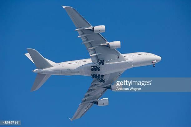Airbus A380, Megaliner, test flight, Bavaria, Germany