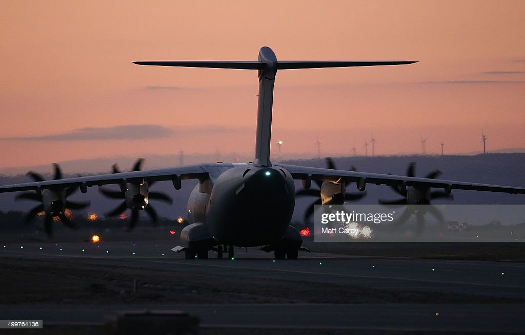 British Fighter Jets At RAF Akrotiri in Cyprus : ニュース写真