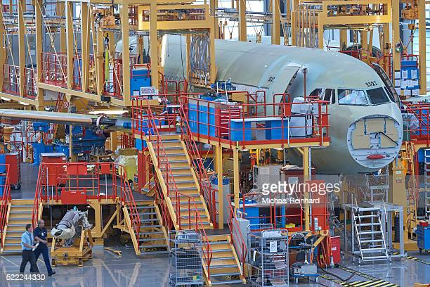 airbus construction - airbus stock pictures, royalty-free photos & images