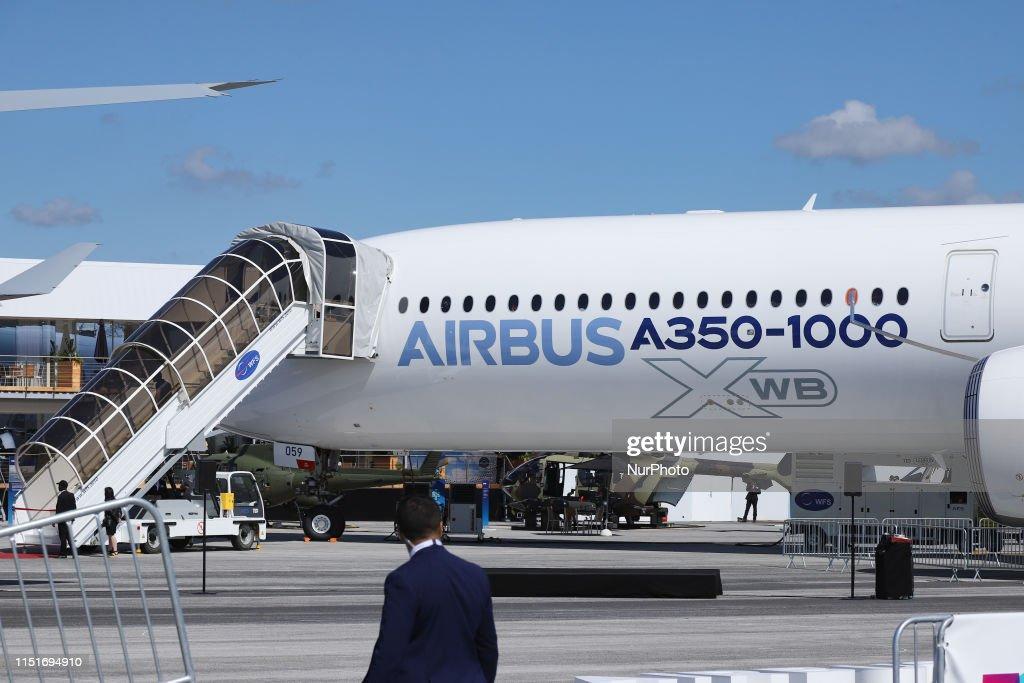 Airbus A350-1000 XWB - Paris Air Show : News Photo