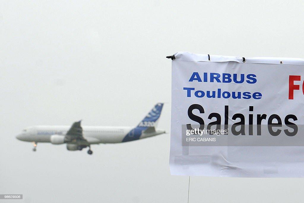 A Airbus takes off as European aircraft : Nieuwsfoto's