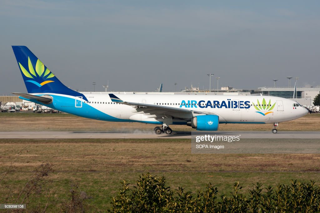 AirCaraibes Airbus A330-200 showing new livery and beginning