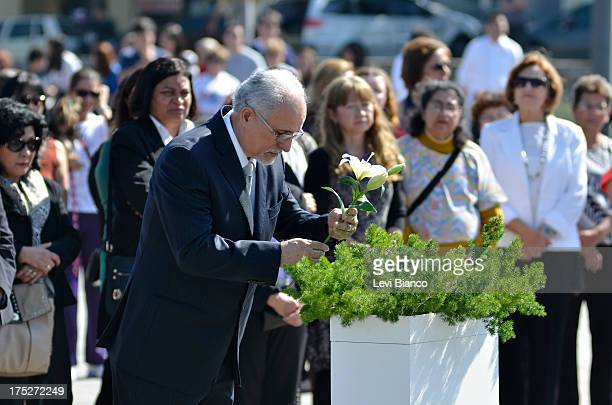 Aircraft Accident 6 Years Later Relatives and friends make honor to victims of flight JJ3054 at the Memorial 17 de Julho in São Paulo Brazil where...