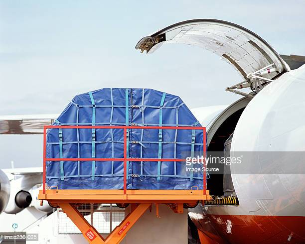aircraft cargo - cargo airplane stock photos and pictures