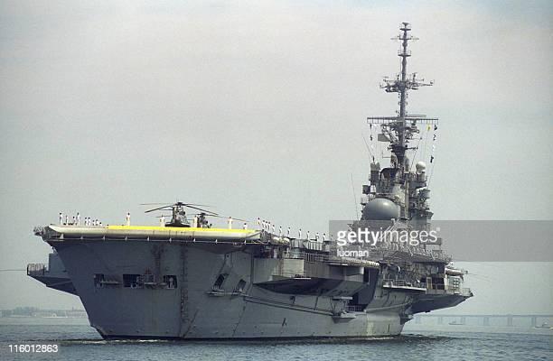 porta-aviões - marinha - fotografias e filmes do acervo