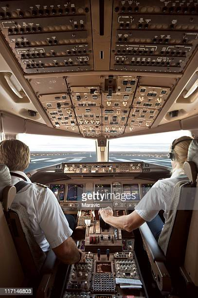 aircraft cockpit - piloting stock pictures, royalty-free photos & images