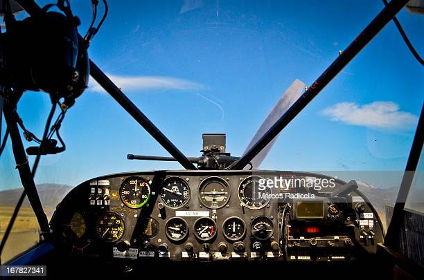 aircraft control panel - radicella stock photos and pictures