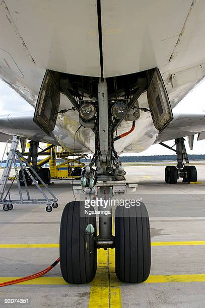 Flugzeuge Vorderreifen