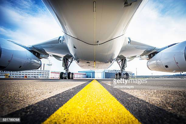 aircraft fuselage - aircraft stock photos and pictures