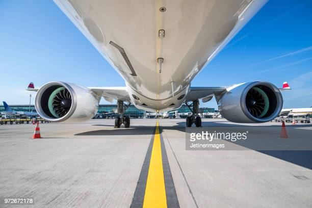 aircraft fuselage - cargo airplane stock photos and pictures