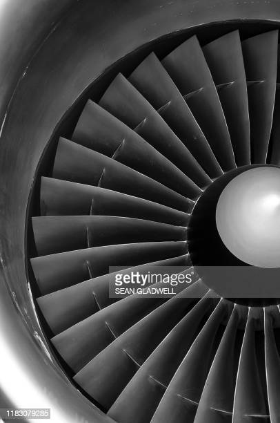 aircraft jet engine - aerospace stock pictures, royalty-free photos & images