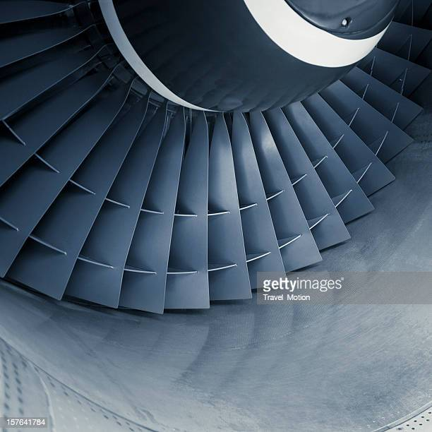 aircraft jet engine turbine - aircraft stock photos and pictures