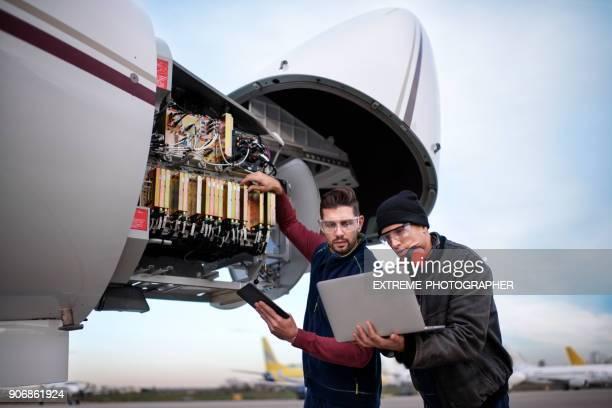 luftfartyg mekanik - luftfarkost bildbanksfoton och bilder