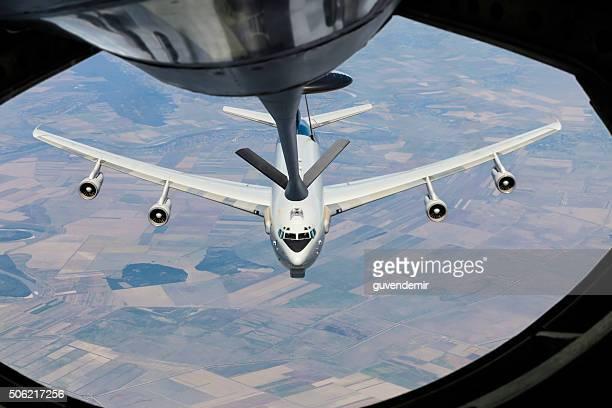 AWACS  aircraft midair refueling