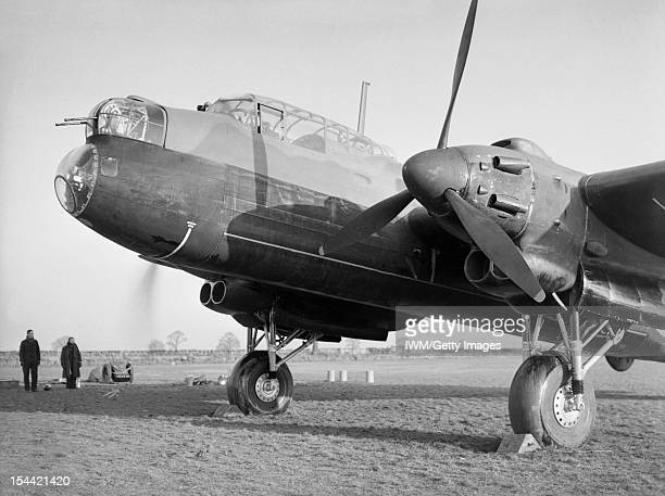 Aircraft Of The Royal Air Force 1939-1945: Avro Manchester, The forward section of an Avro Manchester Mark I of No. 207 Squadron RAF, while running...