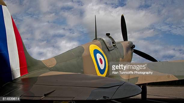 aircraft - spitfire - fotografias e filmes do acervo