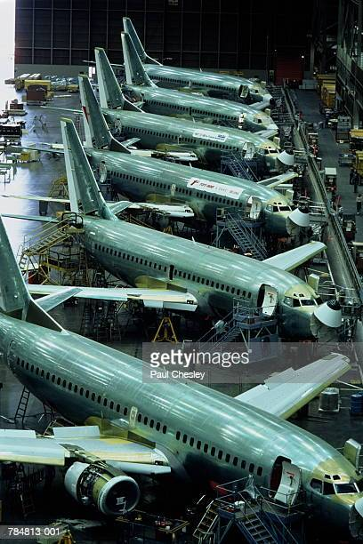 Aircraft production, Boeing 737 passenger aircraft