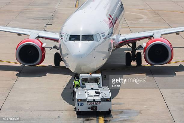 Aircraft ready to go